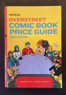 Overstreet Comic Book Price Guide # 39, April 2009, Softcover