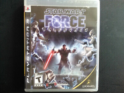 Star Wars: The Force Unleashed PS3 Complete, Tested, Sanitized, Adult Owned.