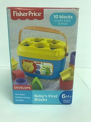 Fisher-Price Baby's First Blocks Play-Set Sorter Shapes