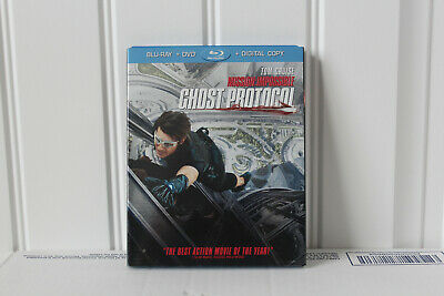 Mission: Impossible Ghost Protocol Blu-Ray, DVD 2-Disc, Digital Copy Tom Cruise