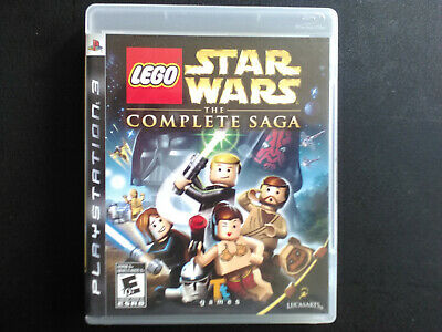 LEGO Star Wars: The Complete Saga PS3 Complete, Tested, Sanitized, Adult Owned.