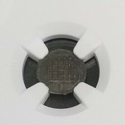 1601/2  Great Britain Half Penny - finest known !! AU 50 NGC