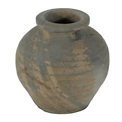 Ancient Chinese Han Dynasty Pottery Jar Artifact - Ca. 206BC-220AD Big Authentic