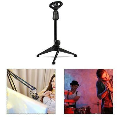 Tiger Straight Microphone Stand with Tripod Base - Adjustable Mic Stand V8C4