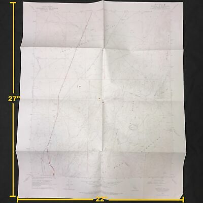 USGS Saltdale NW Quadrangle California Vintage 1967 Topographic Map