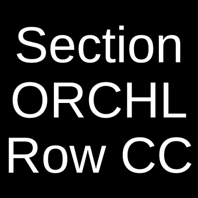 2 Tickets City and Colour 10/5/20 Red Bank, NJ