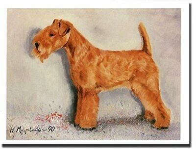 New Lakeland Terrier Dog Profile Notecards 12 Note Cards By Ruth Maystead LKT-1