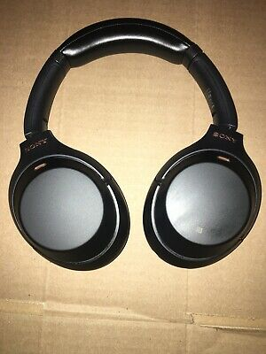 Sony WH- 1000XM3 Bluetooth Noise Cancelling Wireless Headphone WH1000XM3 Black