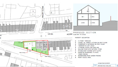 Freehold Land For Sale - Blackburn, Lancashire, Bb1 2An - Large Plot