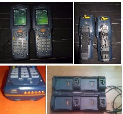 Lot  x2 Datalogic dl-skorpio with batteries included  WINDOWS MOBILE 6.1