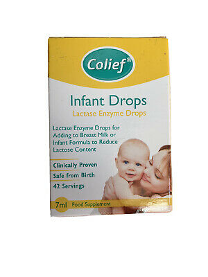 Colief Infant Drops 7ml Brand New  & Sealed With Box & Instructions Long Expiry