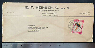 Republica Dominicana 1964 Cancelled Postmarked stamp Commercial Cover