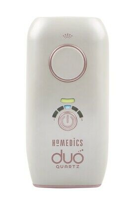 HoMedics DUO QUARTZ - IPL Permanent Hair Reduction with Facial Adaptor