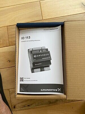 GRUNDFOSS IO 113 / Brand new complete with Box and instruction manual