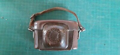 Vintage camera VOIGTLANDER in a fixed leather case, West Germany