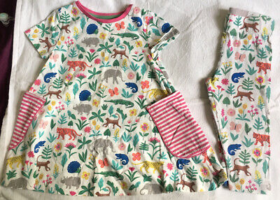 Gorgeous Mini Boden Age 5-6 Years Tunic Dress Top & Matching Cropped Leggings