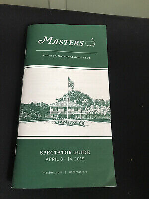 Masters 2019 Programme