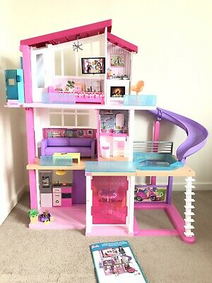 Barbie Dream House Adventures Large Three Story Dolls House 70 Accessories