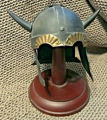 Viking Horned Helmet Miniature Dark Ages Replica