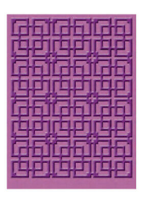 Provocraft Cuttlebug Sizzix 5x7 Embossing Folder BAMBOO from Oriental Weave Set