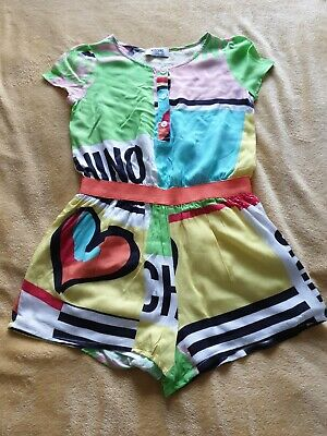 Great Condition Girls Moschino Playsuit Age 8