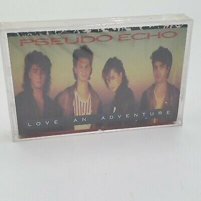 Pseudo Echo - Love An Adventure - Audio Cassette Tape - FACTORY SEALED