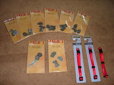 Pet Tags and Collars Lot