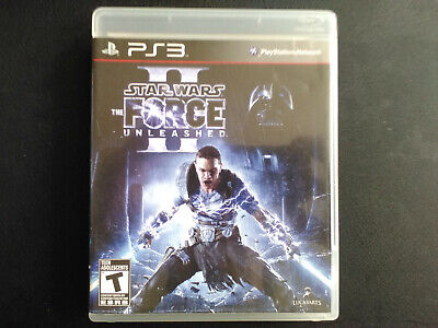 Star Wars: The Force Unleashed II PS3 Complete, Tested, Sanitized, Adult Owned