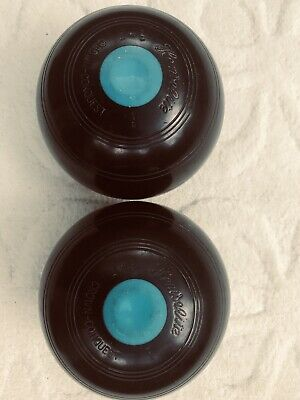 HenseliteCrown Conquest Full 2 Bias used crown green bowls 2.10 VG condition