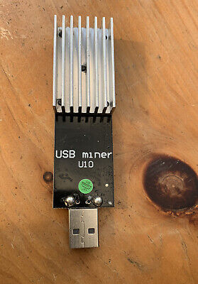 Rockminer USB ASIC miner Like GekkoScience. 150Mhz = 15Gh/s Overclockable