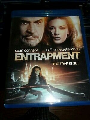 Entrapment - Blu-Ray Disc - Watched Once!!