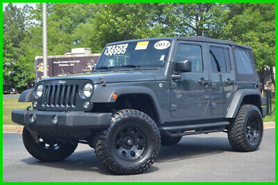 2017 Jeep Wrangler SPORT 4X4 UPGRADES RHINO COLOR UNDER 100K WARRANTY CERTIFIED! 12K MILES! CLICK ITEM DESCRIPTION FOR 74 PICS + DETAILS FREE CARFAX!