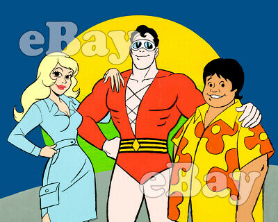 Rare! PLASTIC MAN Cartoon Color TV Photo HANNA BARBERA Ruby Spears DC COMICS