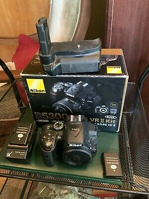 Nikon D5300 24.2 Megapixel Camera With Extras