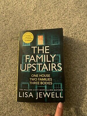 The Family Upstairs: The Number One bestseller by Lisa Jewell Paperback Book