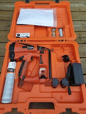 PASLODE IM65 F16 LITHIUM  CORDLESS BRAD NAIL GUN **GOOD CONDITION** 2nd Fix