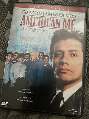 American Me (DVD, 2003) WoW Visit Store Lots More Movie Night Collector's Item🎥