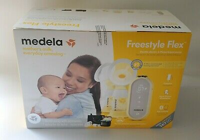 Medela Freestyle Flex Breast Pump, Double Electric 2-Phase Breast Pump