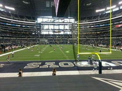2 Tickets Dallas Cowboys V.s Cleveland Browns Oct.4 Sec.124 Row 10 Great Seats