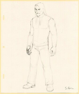 Metalocalypse Original Animation Art: Young Nathan