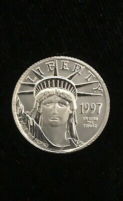 1997 BU Platinum Eagle $10 1/10 Ounce First Year of Issue