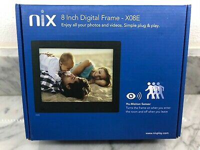 "Nix X08E 8"" Digital Photo Frame"