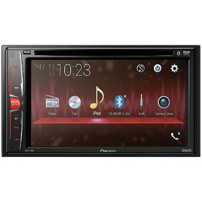 """Pioneer AVH-210EX in-Dash 2-DIN 6.2"""" Touchscreen DVD Receiver with Bluetooth"""