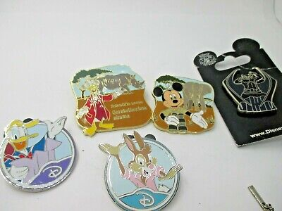 Disney Trading Pin Lot of 5 Pins Mickey Donald