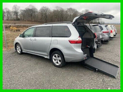 2019 Toyota Sienna VAN WHEELCHAIR HANDICAP REAR ENTRY 2019 TOYOTA SIENNA LE VAN WHEELCHAIR HANDICAP REAR ENTRY 2 WHEELCHAIR TOYOTA SIENNA 2019LE