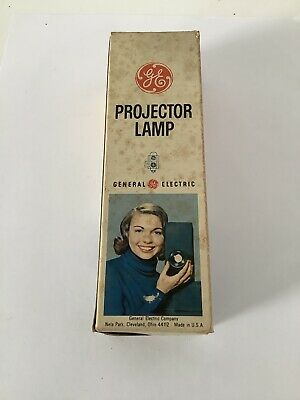Ge Projector Lamp  Tested Works!