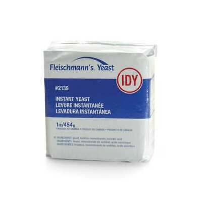 Fleischmann's Instant Dry  Yeast 1 Lb / 454 Gr  # 2139 Exp May 03 2022
