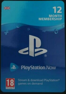 Playstation Now 12 Months Subscription
