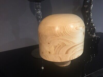 MILLINERY  WOODEN HAT BLOCK. OVAL. SHOP DISPLAY. Made To Order
