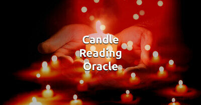 Candle Burning Wax Reading by Psychic Reader Intuitive 40 yrs exp.